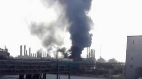 Fire erupts after explosion at Iranian petrochemicals plant (VIDEO)