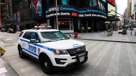 VIDEO of NYPD officers blaring 'Trump 2020' through patrol car loudspeaker SETS OFF liberals