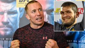 'A perfect legacy': Georges St-Pierre hails retired Khabib Nurmagomedov as he RULES OUT future fight with Russian legend