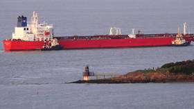 'Hijacking by stowaways': UK police & coastguard deal with 'major incident' onboard oil tanker off Isle of Wight