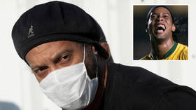 Freed Ronaldinho forced to miss event after testing positive for COVID-19 - but Brazil icon offers HUGS as he insists he is fine