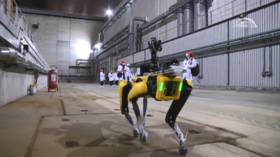 Well he's unlikely to be bothered by radioactivity! Scientists test robotic dog set to monitor Chernobyl radiation levels (VIDEO)