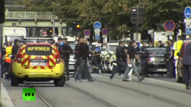 Police at scene of deadly knife attack near Nice church