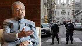 Ex-Malaysian PM says Muslims have RIGHT TO KILL millions of French as Twitter drags feet on deleting hateful message