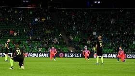 'Isn't it their own right?': Krasnodar players become presumed 'racists' for not taking a knee before game vs Chelsea