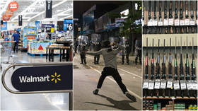 Walmart removes guns & ammo from floor displays due to 'isolated civil unrest' after looting spree in Philadelphia
