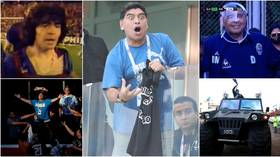 Drugs, prostitutes & the Hand of God: Looking back at Diego Maradona's 6 maddest moments as Argentina legend turns 60