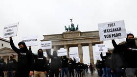 WATCH: Muslims in Berlin hold protests against Macron's anti-Islamist crackdown, chant 'Allahu akbar'