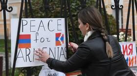 Russia promises 'necessary' assistance to Yerevan if Nagorno-Karabakh fighting spills onto Armenia's soil