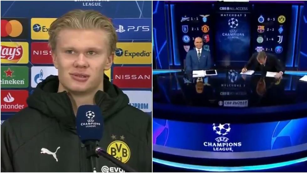 Explaining Last Night's Bizarre Erling Haaland Post-Match Interview