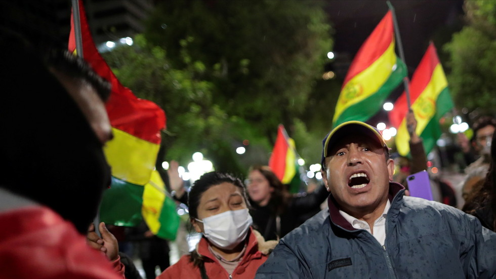 Bolivia's president-elect survives dynamite attack at party's headquarters