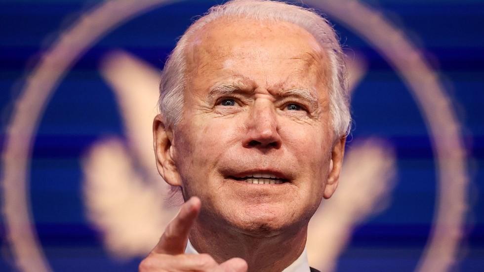 China extends congratulations to president-elect Joe Biden