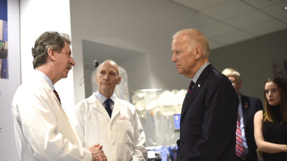 Biden's cancer charity raked in millions but spent NOTHING on medical research, tax filings show