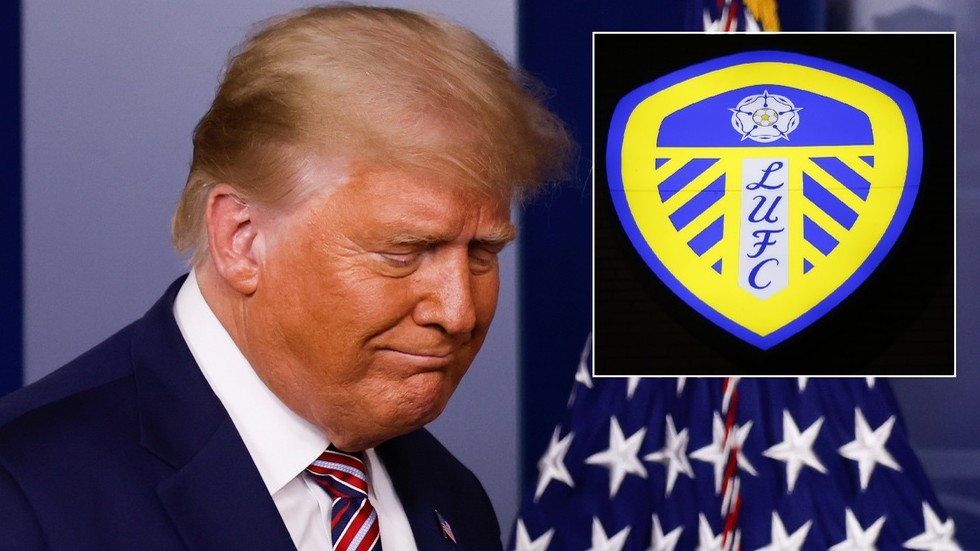 'He thought the election was bad...': Leeds United troll Trump after US president's Twitter blunder