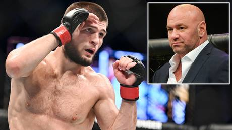 'He's still the champ': UFC president Dana White says he's hopeful Khabib will RETURN to the UFC to chase 30-0 landmark