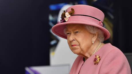 Britain's Queen Elizabeth near Salisbury, Britain October 15, 2020