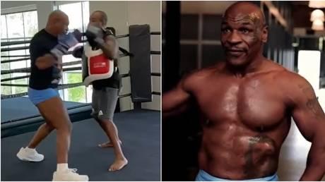 Mike Tyson is preparing for his ring return against Roy Jones Jr. © Instagram @miketyson / @kingsmma_hb