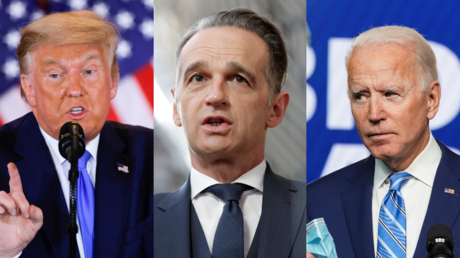 'Sometimes it's hard to be a loser': German foreign minister calls on Trump and Biden to accept election result