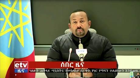 ©Ethiopia Broadcasting Corporation via Reuters TV