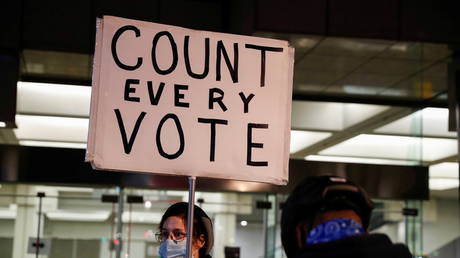 Count every vote...but only once © Reuters / Shannon Stapleton