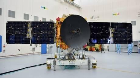 © UAE's 'Hope' Martian probe.  Mohammed bin Rashid Space Centre (MBRSC)