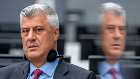 Kosovo ex-president Thaci pleads not guilty to war crimes at The Hague