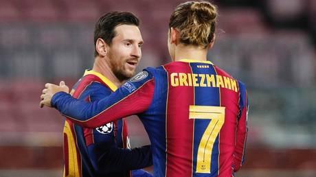 Uneasy alliance? Lionel Messi and Antoine Griezmann