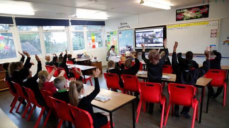 British schools reopen amid the coronavirus outbreak