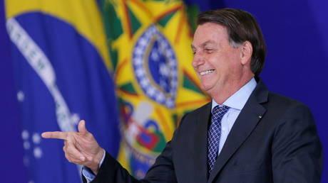 Le président brésilien Jair Bolsonaro (FILE PHOTO) © REUTERS / Adriano Machado