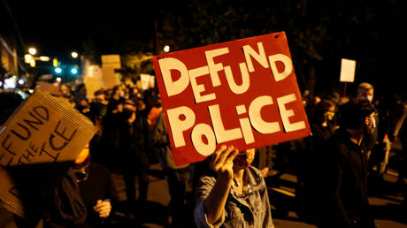 Silencing 'defund the police' campaigners is the next big battle in the Democrats' civil war