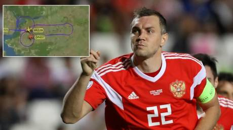 Cockpit capers: Russian pilots draw GIANT PENIS in support of Artem Dzyuba after masturbation video scandal