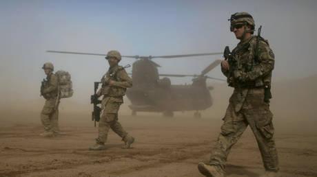 FILE PHOTO U.S. soldiers in Afghanistan, Jan. 28, 2012. © AP Photo/Hoshang Hashimi