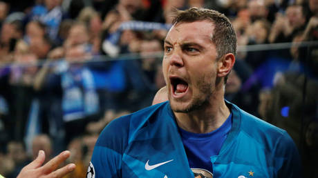 Artem Dzyuba was reportedly the target of blackmail before a video of him pleasuring himself was shared online - Reuters / ANTON VAGANOV