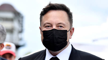 Elon Musk in a September 2, 2020 file photo from Berlin, Germany