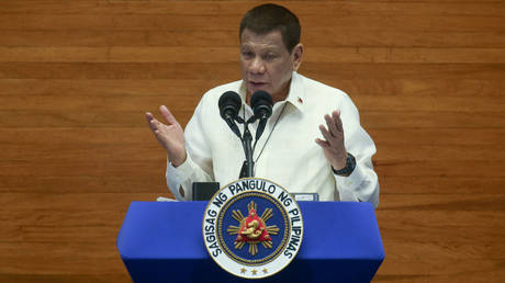 FILE PHOTO: President Rodrigo Duterte