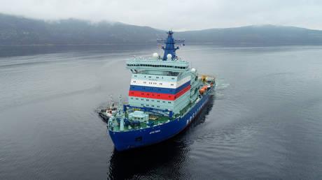 The Arktika icebreaker