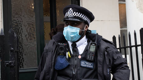London police officer © Getty Images / PA Images / Aaron Chown