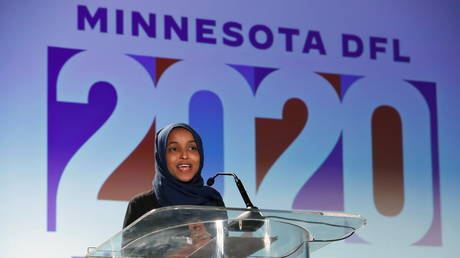 FILE PHOTO: Congresswoman Ilhan Omar (D-Minnesota), November 3, 2020.