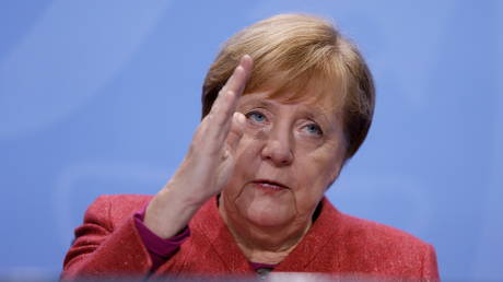 German Chancellor Angela Merkel in Berlin, November 16, 2020. © Reuters / Odd Andersen / Pool