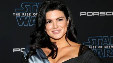 Controversial comments: Former MMA starlet Gina Carano