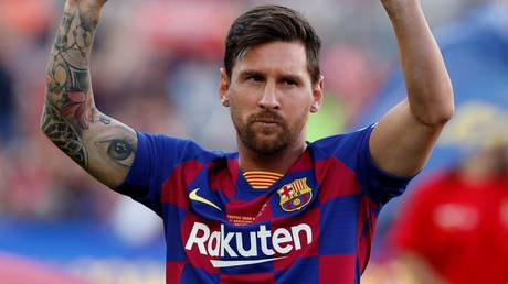 Set for departure? Barcelona's wantaway star Lionel Messi