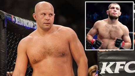 Russian legends: Fedor Emelianenko and Khabib Nurmagomedov