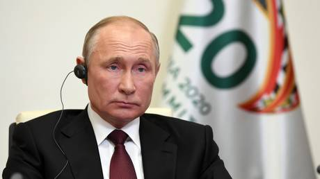 Covid-19 pandemic could bring economic crisis on scale of 'Great Depression,' Putin tells G20 – warns of poverty & social disorder
