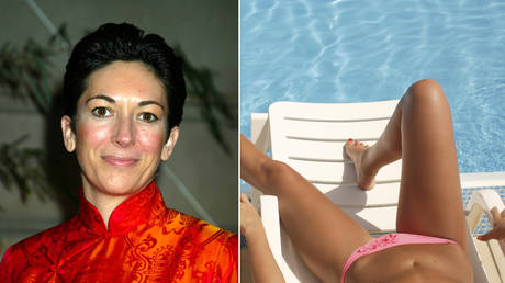 "Ghislaine Maxwell (left) ""constantly"" took photos of topless girls at Jeffrey Epstein's Florida mansion. © Global Look Press"