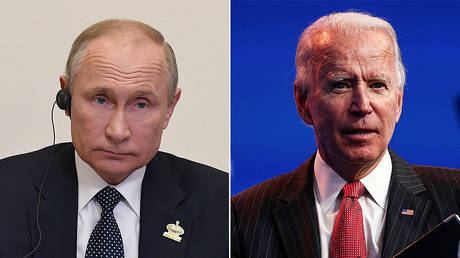 'Formality' – Putin clarifies decision not to congratulate Joe Biden after former VP claimed victory in US presidential race