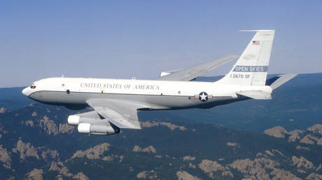 FILE PHOTO: A USAF Boeing OC-135B Open Skies © Wikipedia