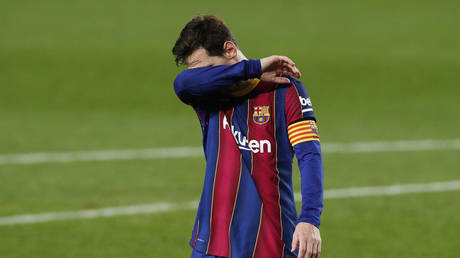 Messi will be rested for the trip to Kiev. © Reuters