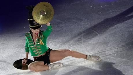 She's no 'babushka'! Elizaveta Tuktamysheva proves 'mature' skaters CAN STILL beat quad-jumping juniors