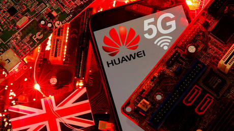 British telecoms may be fined up to 10 percent of revenues for using Huawei gear