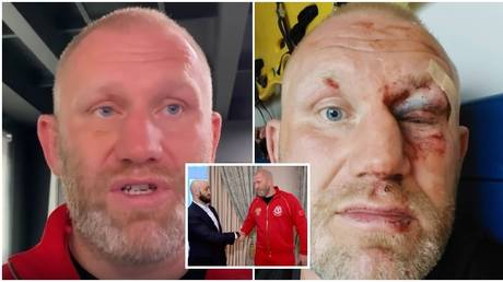 'We spoke like men': Kharitonov shows remarkable recovery after brutal attack by UFC fighter Yandiev as pair END feud (VIDEO)